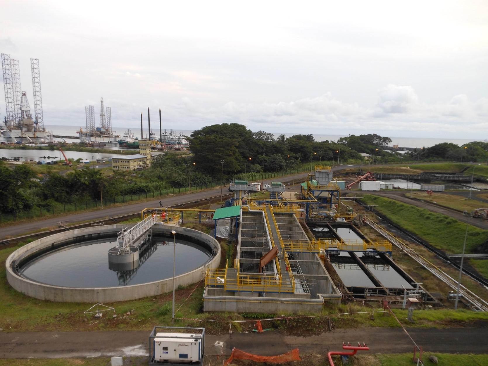 Unité de traitement des eaux de la raffinerie SONARA – Cameroun